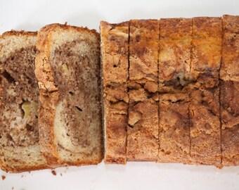 Apple Cinnamon Bread - 1 loaf, over 2lbs.