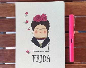 ON SALE Frida Inspired Notebook