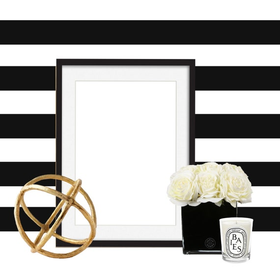 Add a black frame to your Ladie Katie watercolor, illustration or print order