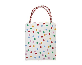 Toot Sweet Spotty Paper Party Bags, Party Favors, Party Supplies, Gift Packaging