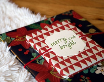 Holiday Gift Tags (set of 5)