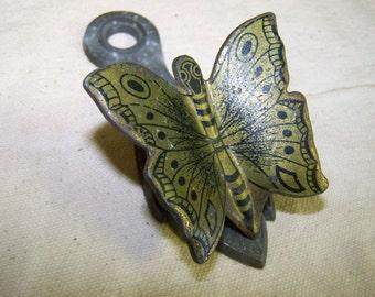 Brass Butterfly Clip
