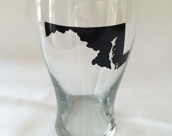 Maryland Pint Glass