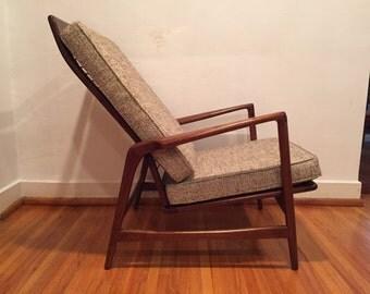 Mid Century Modern HighBack Adjustable Lounge Chair