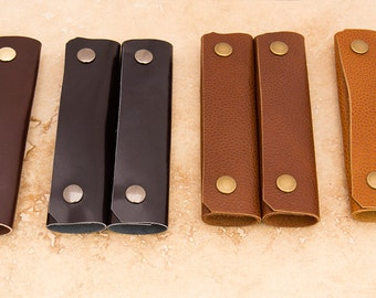 Leather Shopping Bag Handles