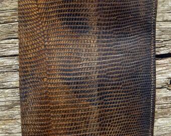 Vintage 1930s Soft Leather Snakeskin Wallet