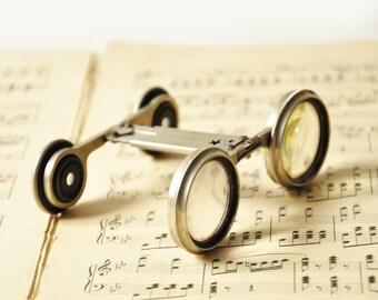French Antique Folding Opera Glasses -Jumelles Mars - Circa 1800's