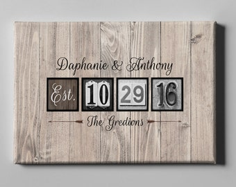 SALE 50% Off Canvas Guest Book, Wedding Canvas Guest Book, Guest Book Alternative, Anniversary Gift, Wedding Gift, FREE SHIPPING (CGB9)