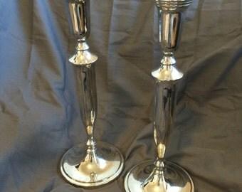 Vintage Godinger Candlesticks