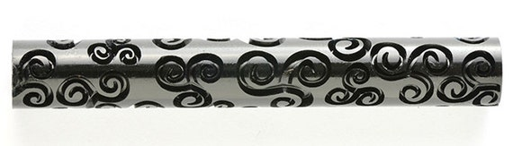 Kor Tools -019 tri spiral skies texture roller for polymer clay you keep the design rolling
