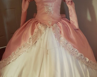 Ariel The Little Mermaid Pink Ballgown