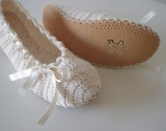 Wedding dance shoes slippers ivory Bridal Party Bridesmaid