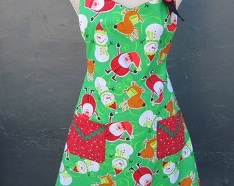 Reversible Holiday Apron - Item G