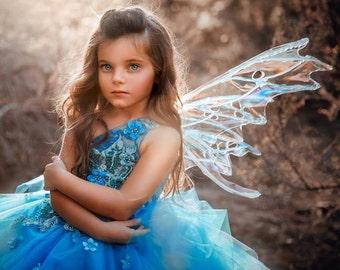 Couture Blue Fairy Gown - Silvermist