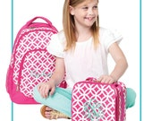 Backpack  Pink Sadie Design...personalized FOR FREE just for you.