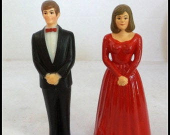 Vintage Cake Toppers