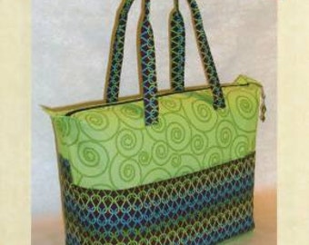 Summer Tote by Lazy Girl-Pattern Only