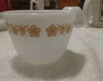 Corning milk glass teacup