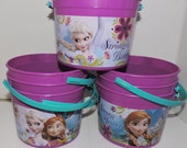 7 buckets- Disney Frozen