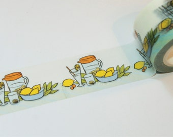 Lemon - Lemonade Washi Tape