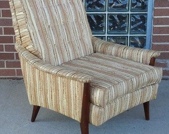 Mid Century Modern Kroehler Signature Series Lounge Chair