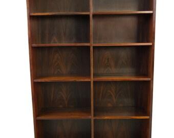 Hundevad Rosewood Bookcase Danish Modern Mid Century