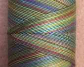 No.09 Apple, Hand Dyed Cotton Machine Thread, Individual Spool 150m, Machine Embroidery, machine Quilting