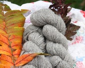 Jacob Sheep wool yarn worsted wt skein   **SALE**