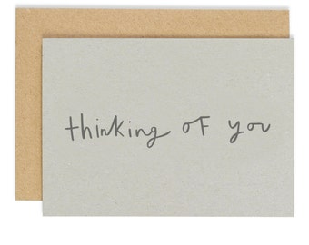 Thinking Of You Card - friendship greeting card - CC135