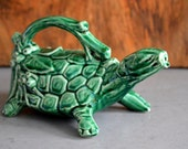 Vintage McCoy Turtle House Plant Watering Can