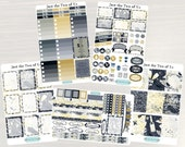 Just the Two of Us Weekly Planner Kit - Weekly Sticker Set, No White Space, Horizontal/Vertical Planner, use w/ ERIN CONDREN LifePlanner