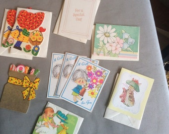 Lot of Vintage Gift Enclosure Cards