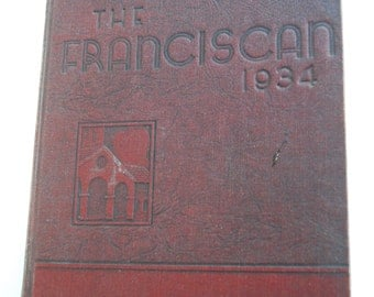 Vintage Yearbook, The Franciscan, 1934