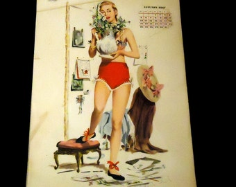 Esquire 1947 Complete Calendar by Frederick Smith