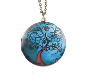 Tree of life - amulet necklace