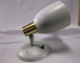 Mid Century Wall Cone Light Fixture.From home built in the late 1950 s epsteam
