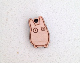 Chibi Totoro keychain