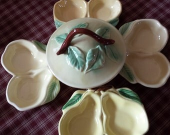 Belmar Pottery of California Pear Set