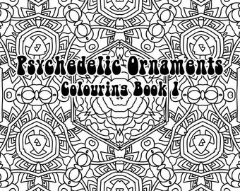 Psychedelic Ornaments Colouring Book Pdf