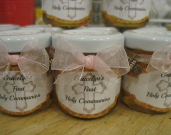 Honey Favor Jars, Meant to Be, Natural Honey