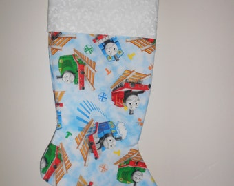 Thomas Train Christmas stocking