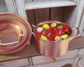 Dollhouse Miniature - Lobster Fest with Potatoes, Lemons, Corn on the Cob - Great for Seafood, Nautical, Massachusetts