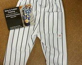 Boys Baseball Pants, Boys Pinstripe Baseball Pants/Uniform pants/sportswear/Vintage Inspired Baseball Pants, Boys Birthday/MYSWEETCHICKAPEA