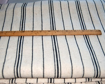 Stripped cotton fabric