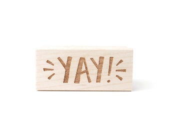 Rubber Stamp - Yay!