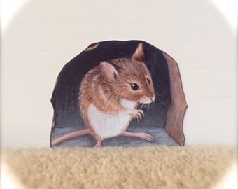 Monty Mouse Wall Decal