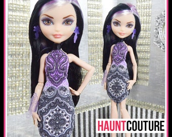 """Fairytale Princess Haunt Couture: """"Swan Song"""" fierce ever after high fashion outfit"""