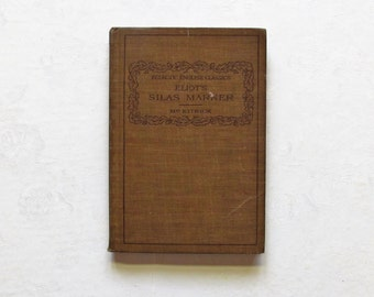 Eliot's Silas Marner Eclectic English Classics Hardcover Book
