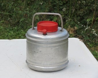 Sweet Metal Cooler Vintage Camping Equipment