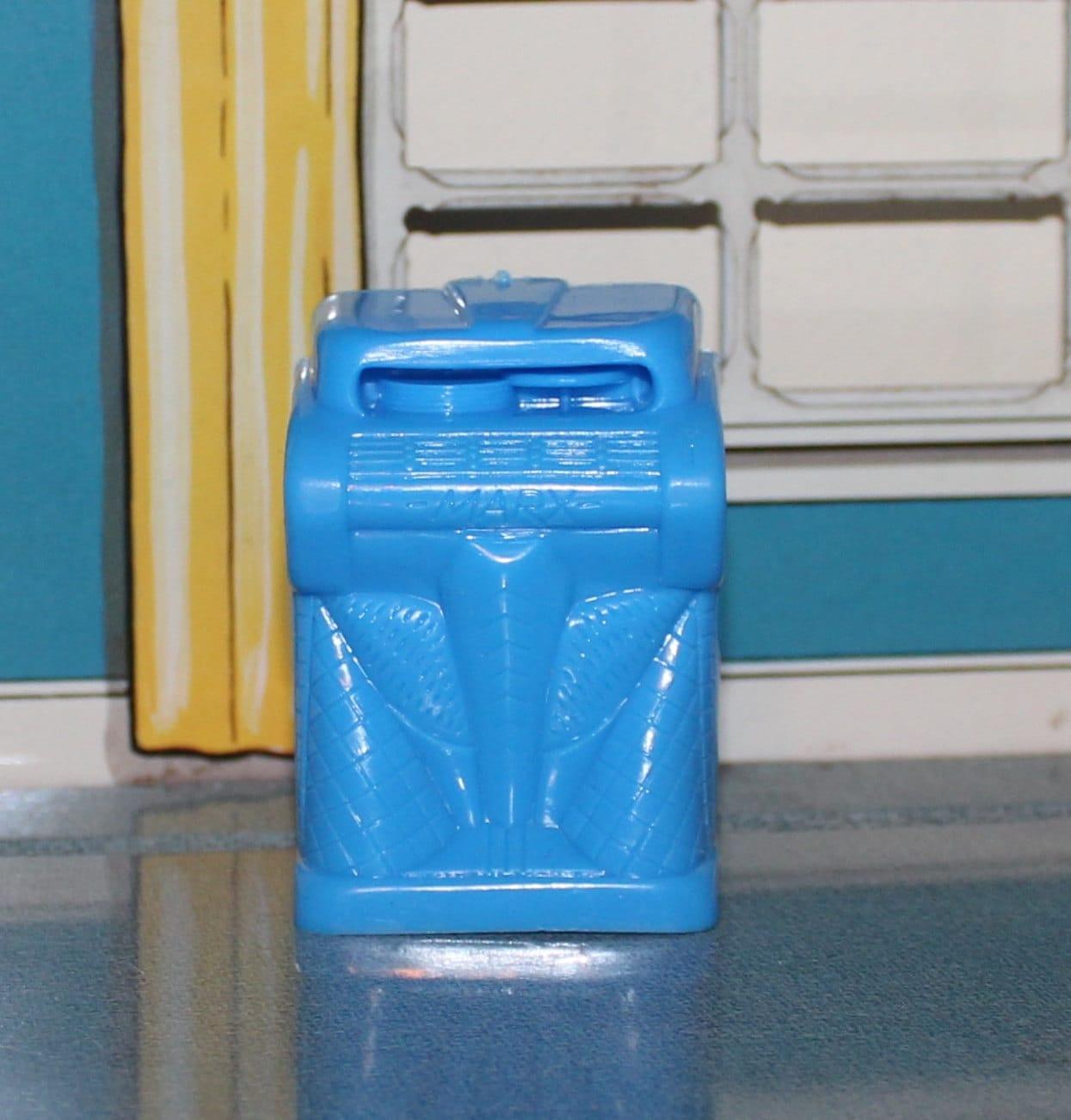 Marx Plastic Dollhouse Furniture Blur Juke Box Tin Litho